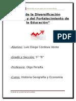 Ensayo La Economia en el Peru