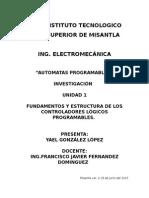 Unidad 1 Automatas Programables