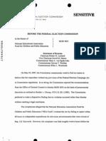 10 2006 FEC Complaint Board Answer