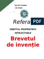 Brevetul de Inventie-Andrada