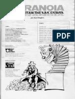 Paranoia -El Cantar de Las Cubas
