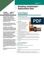Breking Hydrocarbon BTEX LINES OCE 12