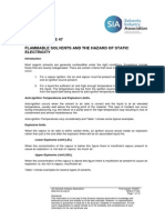 SIA Guidance Note 47 Flammable Solvents the Hazard of Static Electricity