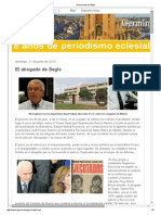 Juicio de faltas contra el Vicario Episcopal García Ramiro y el jefe de protocolo del arzobispado de Barcelona