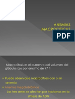 Anemias Macrociticas y Normociticas