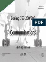 B767 200-300 BOOK 23 101 - Communications