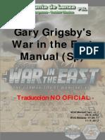 War in the East Manual (Español)