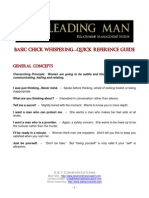 Decoding Women Quick Reference