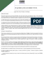 Composicion Quimica de Los Seres Vivos wikipedia en pdf