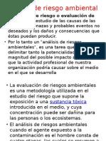 Análisis de Riesgo Ambiental