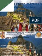 principios axiologicos de los incas