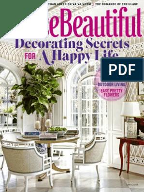 Excellent House Beautiful April 2015 Usa Human Eye Wellness Spiritservingveterans Wood Chair Design Ideas Spiritservingveteransorg