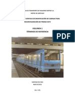 Terminos de Referencia Servicio Modificacion de Cabinas Para Reconfiguracion de Trenes