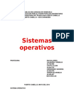 Sistema Operativo Informatica