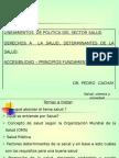 Determinantes de La Salud y Salud Publicas