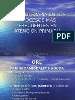 Antibioterapia en Atención Primaria