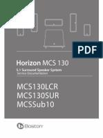 MCS130 System Service Manual_SM