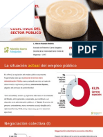 Legalidad presupuestaria y convenio colectivo en el Sector Público