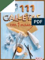 Jansen Greta - 111 Galletas Con 1 Masa