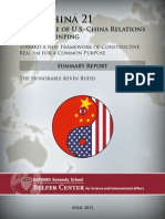 Summary Report US-China 21
