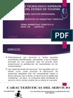 MARKETING TURÍSTICO EN EL NIVEL DE SERVICIOS
