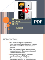 WIRELESS INTERNET ACCESS