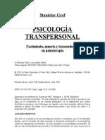 Psicología Transpersonal. Nacimiento, Muerte y Trascendencia en Psicoterapia