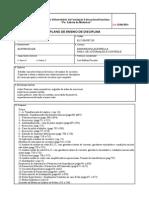 Plano de Disciplinas EL5230 - NE7230