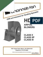HDAF 905 Internet Airfoil Blower