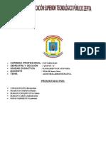 Instituto de Educacion Superior Tecnologico Público Zepita