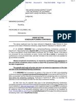 Blackwell et al v. PacifiCare of Colorado, Inc. - Document No. 5