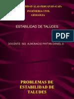 Clase de Estabilidad de Taludes