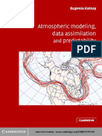 Atmospheric Modeling, Data Assimi