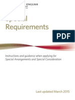 3284 Special Requirements Booklet Last Updated Mar15