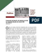FIORI (20100210) A inserção do Brasil e da América do Sul