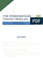 P2M (Pemberantasan Penyakit Menular)
