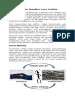 Inversi Geofisika - introduction -25092013 (Roy Baroes)