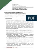 Standar Audit Kinerja Di Indonesia