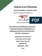 Universidad Alas Peruanas Tesis