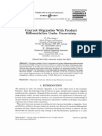Cournot Oligopolies With Product Differentiation Under Uncertainty