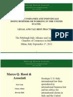 Amcham Meeting 9-17-2012