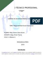 Responsabilidad Social Empresarial-RSE