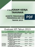 Program Kerja Tahunan 2015