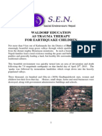 Waldorf Education as Trauma Therapy for Earthquake Childre…