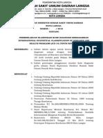 SK PENGGUNAAN STANDAR (ICD-10).doc
