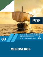 Leccion de ES 2015-3T - Misioneros