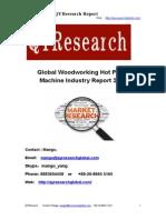 Global Woodworking Hot Press Machine Industry Report 2015