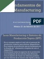 UT I - Fundamentos de Lean Manufacturing