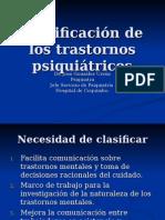 Clasificación de Los Trastornos Psiquiátricos 1