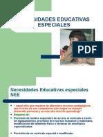 Necesidades Educativas Especiales NEE( Ps. Edu.).